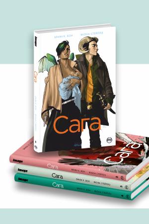 Комплект з чотирьох коміксів «Сага»