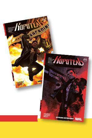 Комплект з двох коміксів «Каратель»