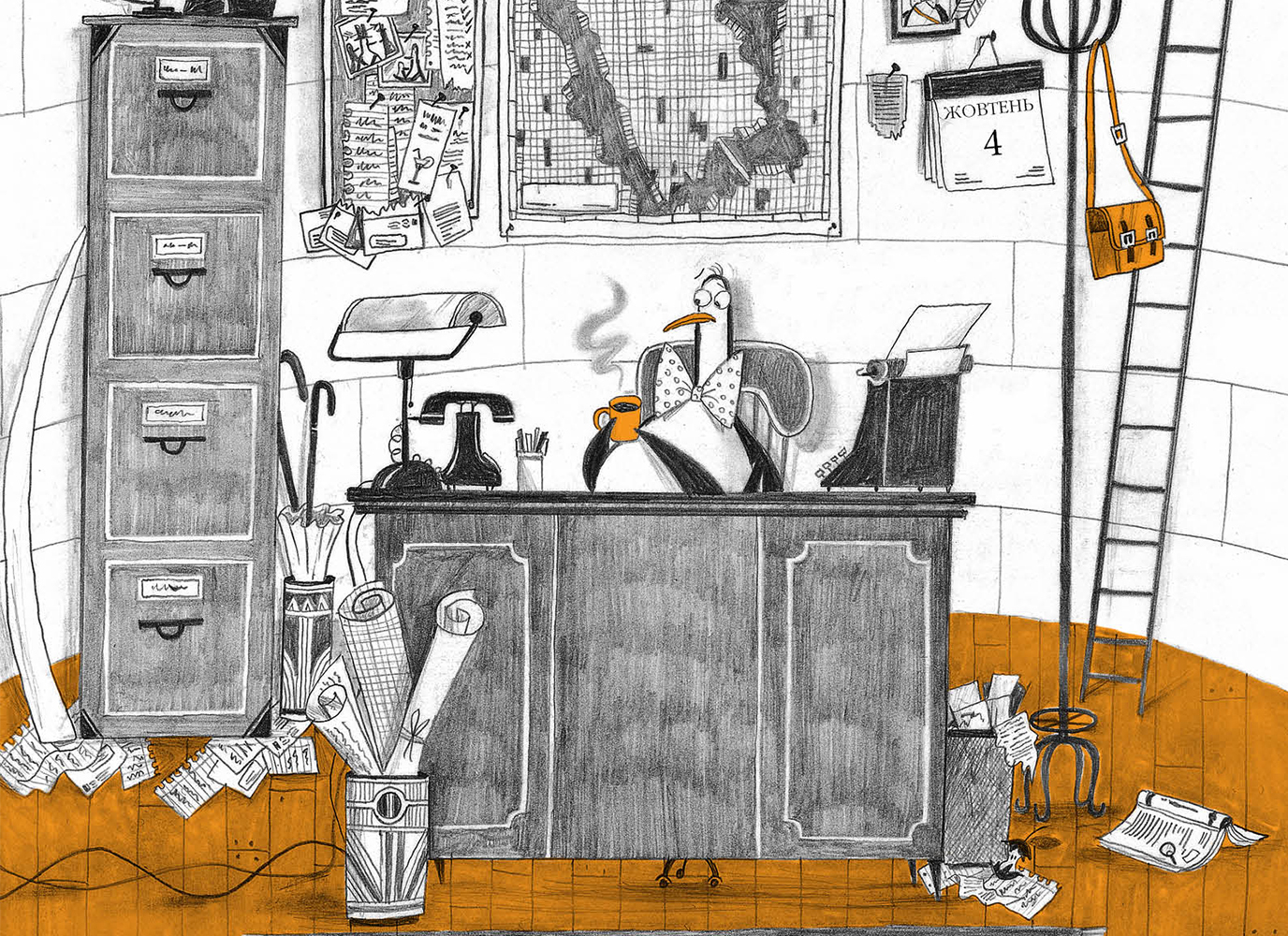 Містер Пінґвін: стильний нишпорка на сторожі міста