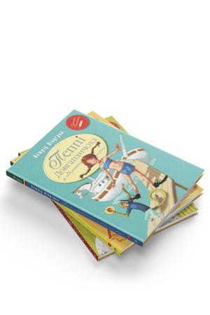 Комплект з трьох книжок серії «Пеппі Довгапанчоха»
