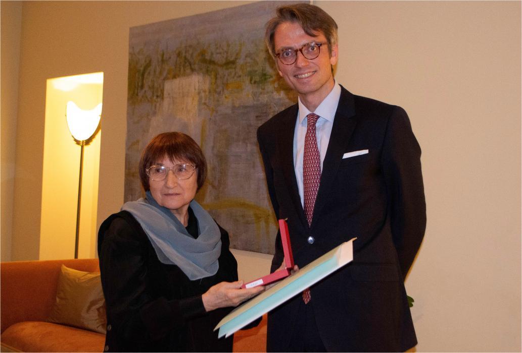 Король Швеції нагородив Галину Кирпу Орденом Полярної зірки